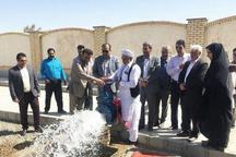 افتتاح یک طرح عمرانی در شهرستان هامون همزمان با چهارمین روز هفته دولت