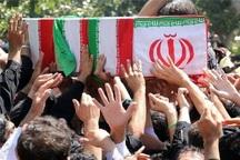 پیکر شهید مدافع حرم در شهر ری تشییع شد
