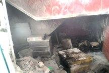 آتش سوزی در کارگاه فرآوری عسل در تبریز
