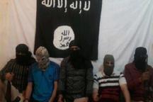 داعش عکس گروهی ۵ مهاجم عملیات تروریستی در اهواز را منتشر کرد