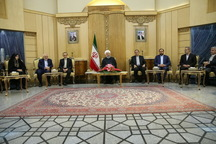 روحانی: فلسطین موضوع اول مسلمانان جهان است/ تصمیم ترامپ برای انتقال سفارت آمریکا به قدس گستاخانه، نادرست و غیرقانونی است