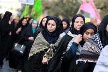 300 دانش آموز دختر از قزوین به اردوی راهیان نور اعزام شدند