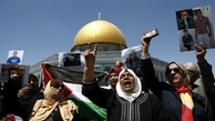 عکس/ تظاهرات در مسجد الاقصی