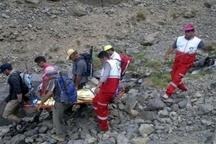 نجات کوهنورد مصدوم در ارتفاعات هزار راین  عملیات 18 ساعته برای نجات کوهنورد 38 ساله