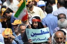 راهپیمایی روز جهانی قدس در دورود برگزار شد