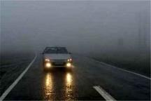 مه و کاهش دید در برخی محورهای خراسان رضوی