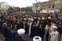 کنگاور در سوگ پیامبر گرامی اسلام غرق در عزاست