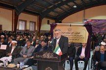 آیین افتتاح و کلنگ زنی پروژه های کشاورزی گلستان برگزار شد