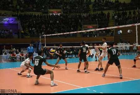 برنامه دیدارهای روز چهارشنبه رقابت های والیبال زیر 23 سال آسیا در اردبیل