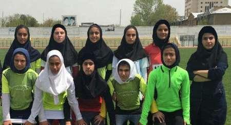 بانوان کردستانی نایب قهرمان مسابقات دوو میدانی نونهالان منطقه ای کشور شدند