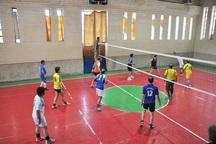 مسابقات والیبال جام فجر در اشنویه آغاز شد