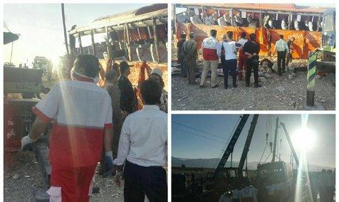 مسئولین برگزارکننده اردوی دانش آموزان خودشان تأمینکننده راننده و اتوبوس بودند