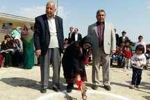ساخت یک مدرسه با کمک نیکوکاران در روستای مرزی گنبدکاووس آغاز شد
