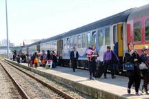 15 هزار مسافر نوروزی از طریق راه آهن جنوب شرق جابه جا شدند