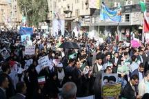 راهپیمایی شکوه وحدت در خوزستان برگزار شد