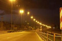 برج نوری در 9 نقطه پرتصادف جاده های لرستان درحال نصب است
