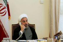 رییس جمهوری در تماس با استاندار اصفهان وضعیت استان را جویا شد