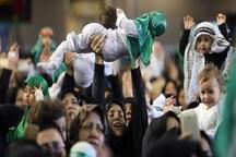 آیین شیرخوارگان حسینی در ملایر برگزار شد