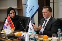 ملاقات سفیر کرواسی با رئیس دانشگاه یزد