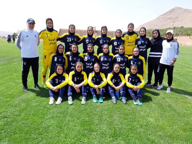 صعود آویسا و دزفول به دور نهایی لیگ یک فوتبال بانوان کشور