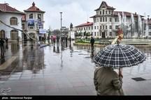 هوای استان گیلان از فردا ابری و بارانی میشود