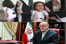 رایزنی استاندار البرز با وزیر بهداشت برای درمان دختر 6 ساله البرزی