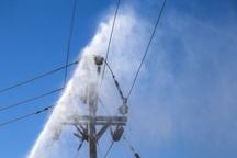 شست و شوی چهارهزارکیلومترشبکه برق درکلانشهر اهوازآغازشد