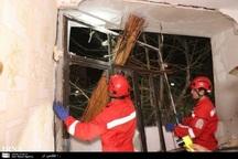 نشت گاز باعث انفجار مجتمع مسکونی در مشهد شد