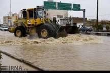 خطر آبگرفتگی معابر عمومی فارس به سبب بارش