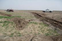 رفع تصرف 6 هکتار از اراضی ملی در رفسنجان