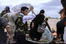 هفت مرکز جمع آوری کمک به سیلزدگان در آبادان برپا شد