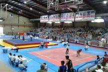 مسابقات ووشو کشور در قزوین آغاز شد