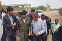 استاندار خوزستان:با تامین اعتبار عملیات اجرایی پل میانرود از سر گرفته می شود