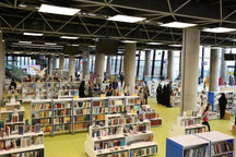 برگزاری آیین کتابخوانی و اهدای کتاب های صوتی رایگان در باغ کتاب تهران