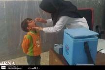 56 هزار کودک در سیستان علیه فلج اطفال واکسینه شدند