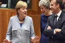 اجماع رهبران سه قدرت اروپایی در حمایت از توافق هستهای ایران
