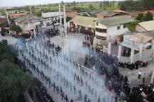 شور حسینی مازندرانی ها  در روز عاشورا