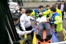 مانور تصادفات شهری از صحنه حادثه تا بیمارستان در گیلان