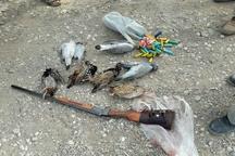دستگیری ۲ نفر متخلف شکارغیرمجاز پرنده در پارک ملی کرخه