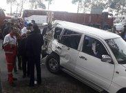 مشخص شدن علت تصادف خودرو همراهان وزیر کار