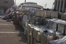 40 میلیارد ریال کالای قاچاق درالبرز کشف شد