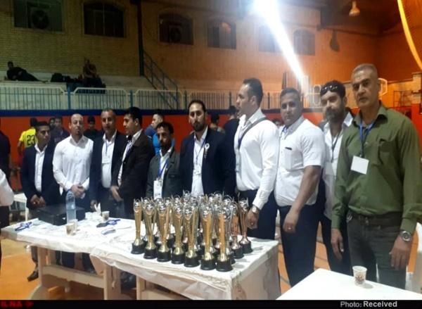 نتایج کامل مسابقات پرس سینه قهرمانی باشگاه های خوزستان به میزبانی بندر امام خمینی