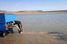 استخرهای ذخیره آب کشاورزی میانه ماهی دار شد