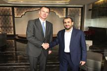دیدار مهم  وزیر خارجه انگلیس با سخنگوی انصارالله یمن