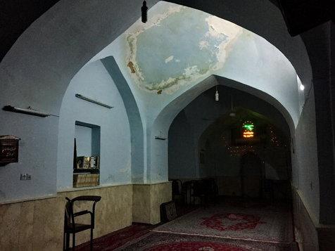 مسجد هزار ساله دزفول کج شد! + تصاویر