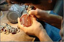 دوره آموزش تراش سنگ های قیمتی در لرستان برگزار شد