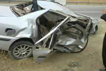 تصادف در جاده های هرمزگان 2 کشته و 3 مجروح برجای گذاشت