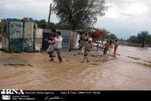 120روستای ریگان در محاصره سیلاب قرار گرفت