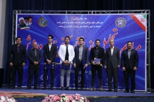 افتخار آفرینان ورزش آذربایجان شرقی تجلیل شدند