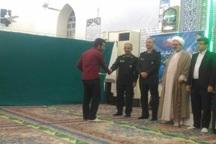 کانون های  مساجد برتر شهرستان دشتی تجلیل شدند